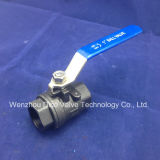 Cast Carbon Steel Wcb Floating Type Thread End Ball Valve