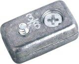 Huevo de aleación de zinc en forma de clips de cuerda de alambre y ganchos de pared (DR-514Z)