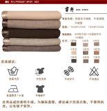 Manta de mola e outono de lã e lã e seda de luxo