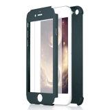 Spitzen, ultra dünnen PC verkaufend 360 Grad-Volldeckung-schützender Handy-Fall für iPhone 6plus mit freiem ausgeglichenes Glas-Schoner