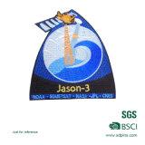 Kundenspezifische Schuluniform gesponnenes Abzeichen (A2-9)