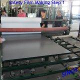 中国の起源3つ- 6つのmmの厚い猫が付いているビニールによって支持される安全ミラー引き戸、キャビネット、ワードローブの引き戸のためのIそして猫IIのフィルム