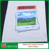 Etiqueta engomada del traspaso térmico de la impresión de la pantalla de Qingyi para la camiseta