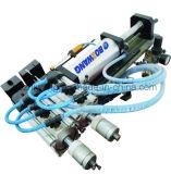 Machine éliminante de fil avec le grand fil