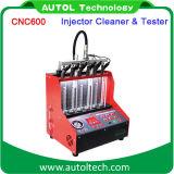 De automobiel Reinigingsmachine van de Brandstofinjector van Meetapparaat cnc-600 Injector&Cleaner