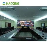 Visualización comercial de la pantalla táctil de la reunión LED TV