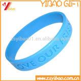 Vários Wristbands personalizados do silicone com profissional livre