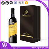 High-End Doos van de Wijn van de Hulpmiddelen van het Leer van de Douane de Verpakkende
