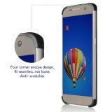 Accesorios para móvil Front + Back Full PC Cover para iPhone Se 5 6 7 para Samsung S7 S7e 360 Funda para teléfono con protector de pantalla de vidrio templado
