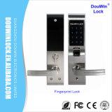 Cerradura de la puerta del código digital de la huella digital del hogar