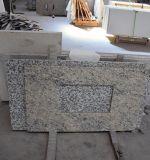 Bancada branca da cozinha da cor de quartzo artificial da alta qualidade para a venda