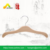 Les enfants de cintres en bois avec crochet en métal (WKT200)