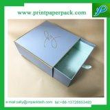 Pretty Gift Packaging Boîte en papier en carton rigide blanche avec ruban