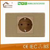 Interruptor dourado de Bell de porta da cor da alta qualidade