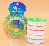 Braccialetto della zanzara del Wristband delle zanzare di modo anti del silicone repellente del braccialetto