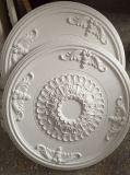 内部の装飾のための装飾的なPUの天井の円形浮彫り