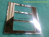 piatto dell'interruttore di vetro glassato dello specchio di Bornze dei bordi smussati di 3&4mm