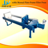 Filtre-presse de plaque d'industrie et de fer de moulage de bâti