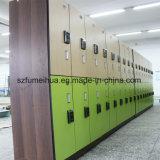 Sicheres RFID Verschluss-Grün-feuerfestes Schule-Schließfach
