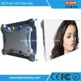 HD P1.667 풀 컬러 LED 영상 벽
