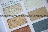 Verdadera de la piedra con textura de la superficie de la pintura de color Catálogo