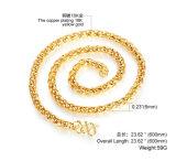 De in het groot Halsband van de Ketting van het Koper van het Verkoperen 18k Goud Geplateerde