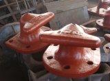 Mariene Meerpaal uit gegoten staal van het Dek van Swl 150ton de Mariene T Hoofd