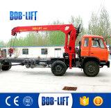 8トンの貨物自動車クレーントラックは販売のために取付けた