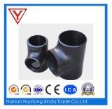 Accesorio de tubería sin costuras de acero al carbono igual y reductor