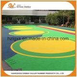Deeltjes van de Korrels van de veiligheid EPDM de Rubber voor de Vloer van de Oppervlakte van de Speelplaats van Kinderen