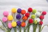 가정 결혼식 훈장 가짜 Flores를 위한 싼 인공적인 Hydrangea 꽃 공 실크 Hydrangea