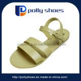 Pattini degli appartamenti delle cinghie di estate dei sandali della spiaggia delle donne nuovi