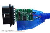 Audi/シート/VW車のフィアットECUスキャンOBD診断ケーブルのためのVAG Kkl USB 409+
