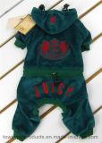 Le vêtement juteux de crabot de marque d'escompte brodent la salopette d'animal familier de Hoodie