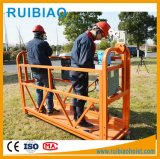 Zlp 800 Series Steel Suspended Platform Cradle Gondola for Constrcution