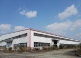Edificio con marco de acero del calibrador ligero estándar para el taller del almacén