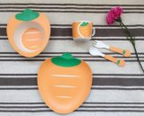 BPA Free Eco Bamboo Fiber Kitchenware Ensemble de vaisselle pour enfants (YK-KS0091)