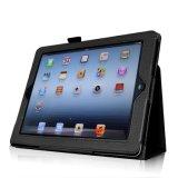 iPad 4를 위한 도매 대중적인 Fintie 2절판 PU 가죽 상자 덮개