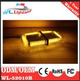 De amber Witte LEIDENE MiniStroboscoop Lightbar van het Waarschuwingssignaal