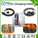Cabo de carregamento Evc07ee-H / Ss 3 * 6 + 2 * 0.5mm2 32A EV para carro de veículo elétrico