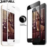 Justvell pour le film de pleine couverture de protecteur de l'écran 9h de la couverture 0.2mm de surface incurvée en verre 6s 7 3D Tempered de l'iPhone 6 pour l'iPhone 7 6 6s