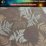 Polyester Gabardine Tissu d'impression avec style rétro pour la robe