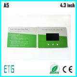最もよい販売のための4.3インチHD LCDスクリーンのデジタルパンフレット