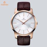 Het Horloge van de lichtgevende Elegante Mensen van het Horloge van het Kwarts van het Roestvrij staal met Zwitserse Kwaliteit 72705