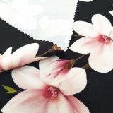 100%полиэстер шайбу бархатной ткани печати
