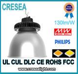 중국은 LED 백색 둥근 서리로 덥은 높은 만, 100W UFO LED 높은 만 빛 IP65에서 제조한다