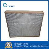 Воздушный фильтр Pleat HEPA деревянной рамки глубокий