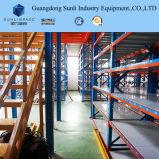 Rack de armazenamento de nível múltiplo Rack Modular Mezanino suportados de paletes