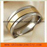 [شينم] مجوهرات [غود قوليتي] وإلتزام نوع ذهب يصفّى مجوهرات حلقة [تيتنيوم] ([تر1840])