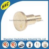 Kundenspezifischer hohe Präzisions-elektrische Heizungs-nichtstandardisierter Messingvorhang-Niet (HHC-K012)